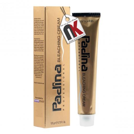 کرم بی رنگ کننده مو پادینا حجم 125 گرم