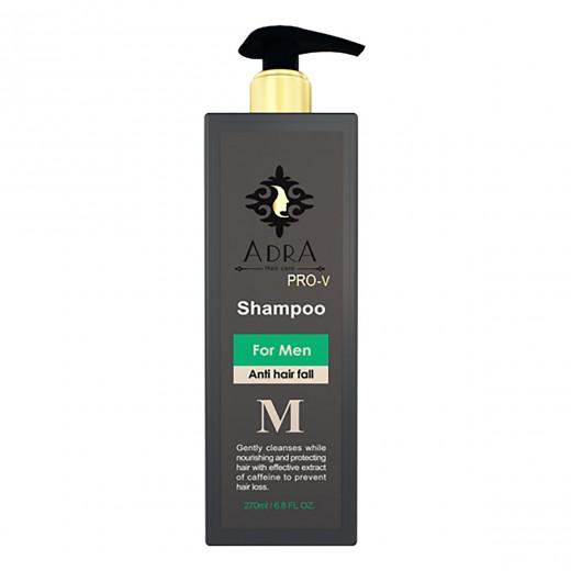 شامپو مردانه آدرا تقویت کننده مو و ضد ریزش حجم 270 میلی لیتر