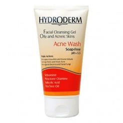 ژل شستشوی صورت هیدرودرم برای پوست های چرب وزن 150 گرم