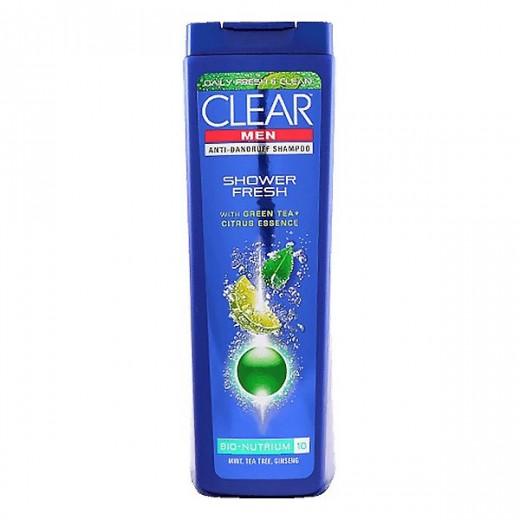 شامپو ضد شوره مردانه کلیر مدل Shower Fresh حجم 200 میلی لیتر