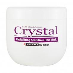ماسک موی کریستال تثبیت کننده رنگ با آبکشی حجم 500 میلی لیتر