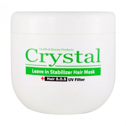 ماسک موی کریستال تثبیت کننده رنگ بدون آبکشی حجم 500 میلی لیتر