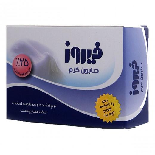 صابون فیروز کرمی وزن 120 گرم