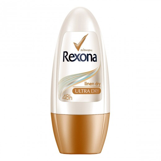 رول ضد تعریق زنانه رکسونا مدل Linen Dry حجم 50 میلی لیتر