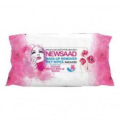 دستمال مرطوب پاک کننده آرایش نیوساد بالشتی مخصوص انواع پوست 20 عددی