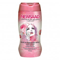 دستمال مرطوب پاک کننده آرایش نیوساد استوانهای مخصوص انواع پوست 64 عددی