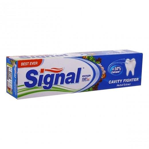 خمیر دندان سیگنال مدل Cavity Fighter Herbal Extract حجم 50 میلی لیتر