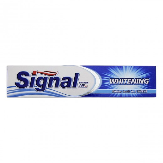خمیر دندان سیگنال مدل Whitening حجم 50 میلی لیتر