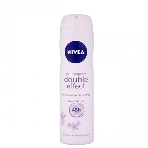 اسپری ضد تعریق زنانه نیوآ مدل Double Effect حجم 150 میلی لیتر