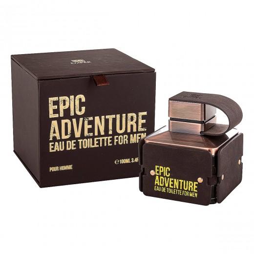ادو تویلت مردانه امپر مدل Epic Adventure حجم 100 میلی لیتر