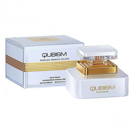 ادو پرفیوم زنانه امپر مدل Qubism حجم 100 میلی لیتر