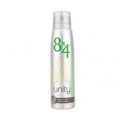 اسپری مردانه و زنانه هشت در چهار مدل Unity حجم 150 میلی لیتر