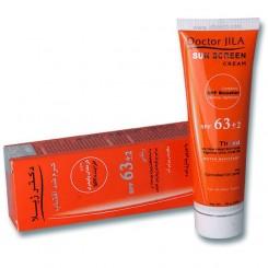 کرم ضد آفتاب دکتر ژیلا SPF63 رنگی