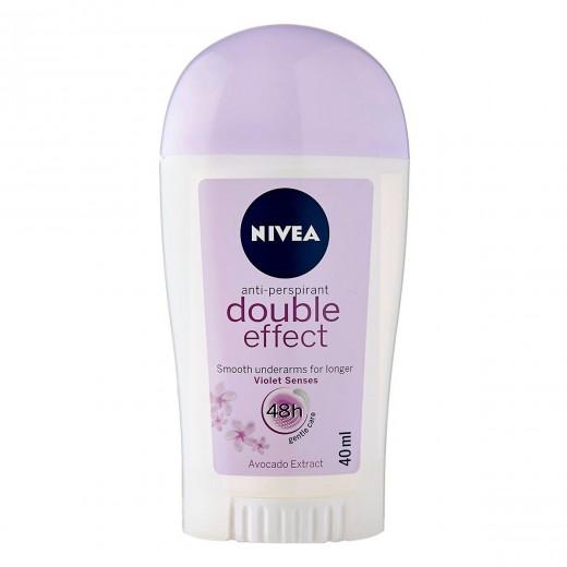 استیک ضد تعریق زنانه نیوآ مدل Double Effect حجم 40 میلی لیتر